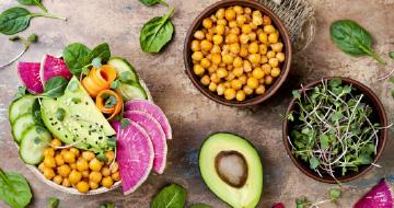 Dieta vegana y vegetariana